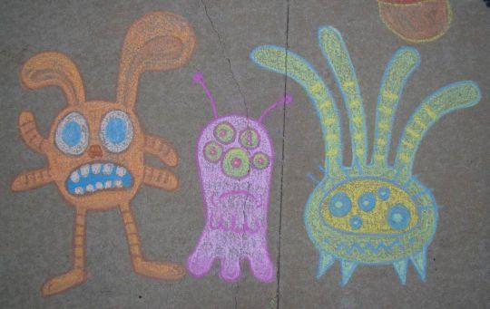 Three Creatures